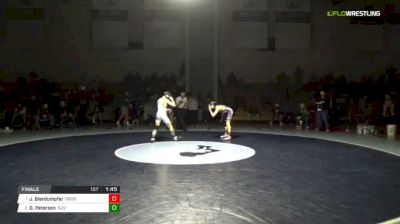 106 lbs Final - Justin Bierdumpfel, Don Bosco vs Dean Peterson, St. John Vianney
