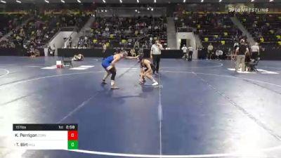 157 lbs Prelims - Killian Perrigon, Cornell College vs Tristan Birt, Millikin University