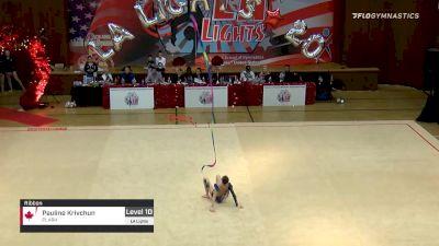 Pauline Krivchun - Ribbon, PLARH - 2020 LA Lights Tournament of Champions