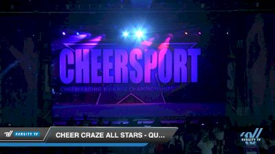 Cheer Craze All Stars - QuadSquad [2019 Senior Coed 4.2 D2 Day 2] 2019 CHEERSPORT Nationals