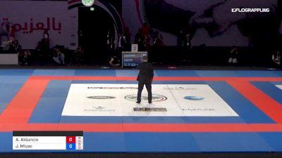 Alexis Alduncin R vs Joao Miyao Abu Dhabi World Professional Jiu-Jitsu Championship