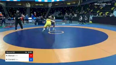 125 kg Prelims - Matt Stencel, Central Michigan Wrestling Club vs Mauro Correnti, New York Athletic Club