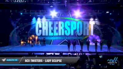ACX Twisters - Lady Eclipse [2021 L4.2 Senior - Small Day 1] 2021 CHEERSPORT National Cheerleading Championship