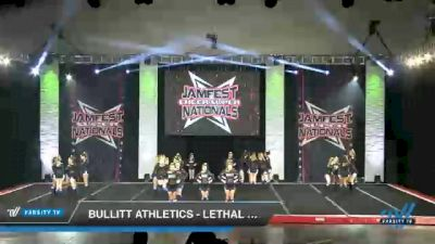 Bullitt Athletics - Lethal Ladies [2021 L2 Junior - Medium Day 1] 2021 JAMfest Cheer Super Nationals