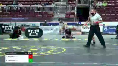 152 lbs Quarterfinal - Zac Martin, Neshaminy vs Paniro Johnson, Cathedral Prep