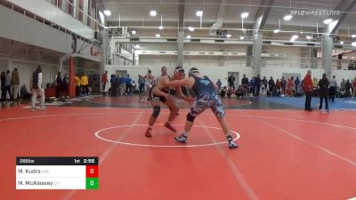 Prelims - Mateusz Kudra, UVA-Unattached vs Michael McAleavey, The Citadel