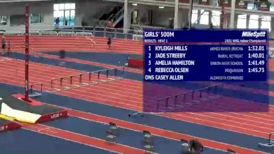 High School Girls' 500m, Finals 2