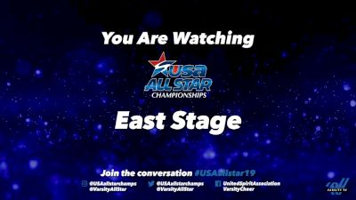 2019 USA All Star Championships - East_Stage - Mar 17, 2019 at 7:30 AM PDT
