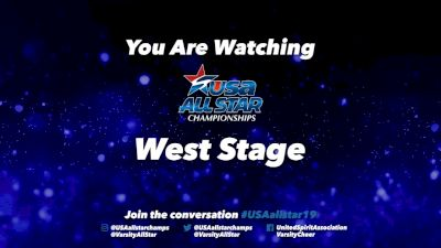 2019 USA All Star Championships - West_Stage - Mar 17, 2019 at 7:30 AM PDT