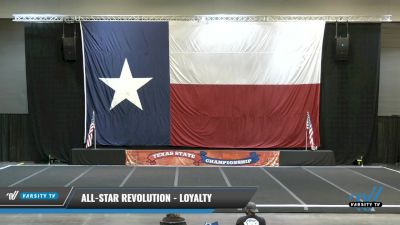 All-Star Revolution - Loyalty [2021 L2 Junior - Medium Day 2] 2021 ACP Power Dance Nationals & TX State Championship