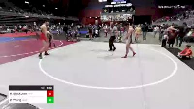 215 lbs Rr Rnd 2 - Ryker Blackburn, Trappers vs Philip Young, WIndy City