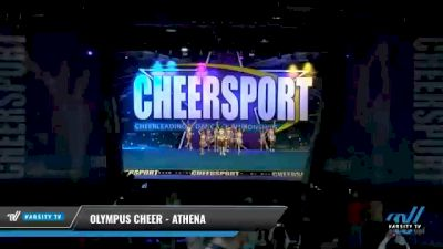 Olympus Cheer - Athena [2021 L2 Junior - D2 - Small - A Day 1] 2021 CHEERSPORT National Cheerleading Championship