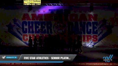 Five Star Athletics - Senior Platinum [2021 L5 Senior - Small 2] 2021 The American Celebration DI & DII