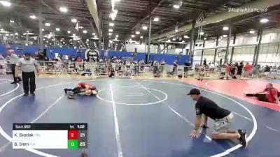 82 lbs Rr Rnd 2 - Kaiden Skodak, Firebird Elite vs Bryce Siem, The Funky Singlets