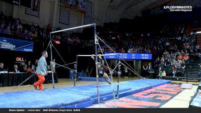 Sabrina Gill - Bars, Oregon State - 2019 NCAA Gymnastics Regional Championships - Oregon State
