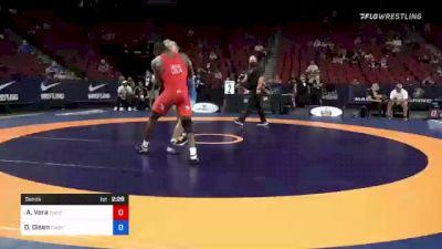 87 kg Semis - Alan Vera, New York Athletic Club vs Dan Olsen, Combat W.C. School Of Wrestling
