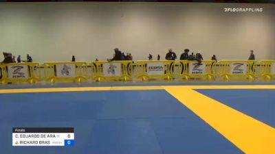 CARLOS EDUARDO DE ARAUJO FARIAS vs JAMES RICHARD BRASCO 2020 IBJJF Pan No-Gi Championship