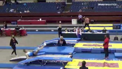 William  Kibbey  - Double Mini Trampoline, United Elite Gymnastics N Cheer  - 2021 Region 3 T&T Championships