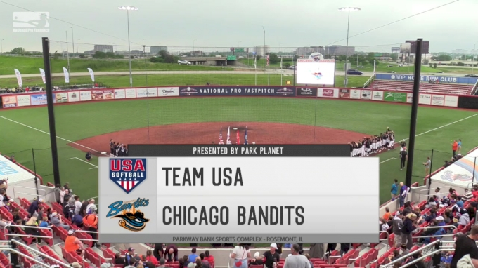 Game 2: Chicago Bandits vs Team USA
