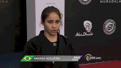Amanda Monteiro vs Mayara Abrahao Abu Dhabi Grand Slam Rio de Janeiro