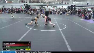 68 lbs Round 3 (4 Team) - Dakota Sandy, Mat Assassins vs AJ Kane, PA Aliiance Red