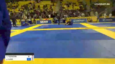 V FERREIRA vs J LUGO 2019 World Jiu-Jitsu IBJJF Championship