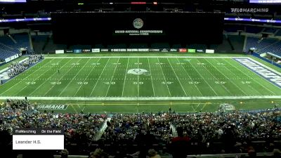 """Leander H.S. """"FloMarching"""" at 2019 BOA Grand National Championships, pres. by Yamaha"""
