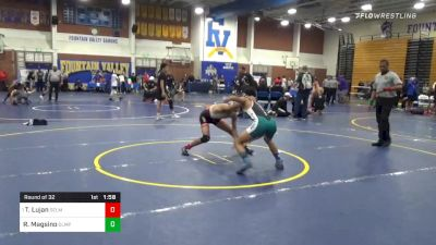 120 lbs Prelims - Tristan Lujan, Selma vs Ralph Magsino, Olympian
