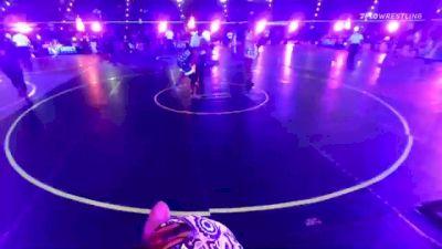 191 lbs Rr Rnd 1 - Kami Hart, Sweet Home HS vs Kennedie Miller, DC Gold