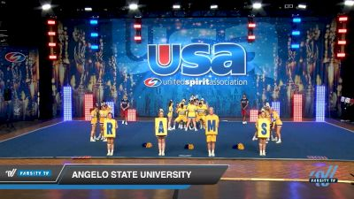 Angelo State University [2019 Large Co-Ed Show Cheer 4-Year College Day 2] 2019 USA Collegiate Championships