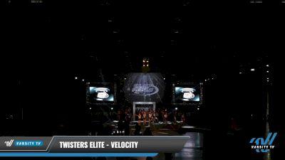 Twisters Elite - Velocity [2021 L2 Junior - D2 - Medium Day 2] 2021 The U.S. Finals: Louisville