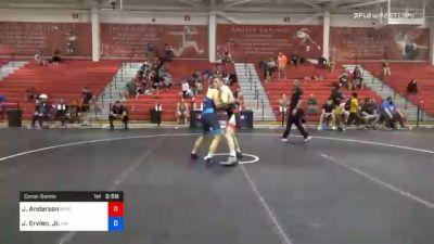 77 kg Consolation - Josh Anderson, MWC Wrestling Academy vs Jack Ervien, Jr., Washington