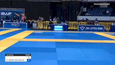 HANNAH KATHARINA RAUCH vs RAQUEL DAYNE KALEIALOHA CANUTO 2019 World IBJJF Jiu-Jitsu No-Gi Championship