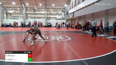 Prelims - Rylee Billings, King University vs Caleb Smith, APP-Unattached