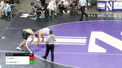 197 lbs Final - Jay Aiello, Virginia vs Christian Brunner, Purdue
