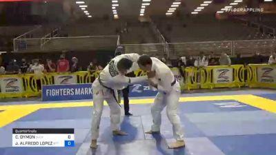 CHAD DYMON vs JOSE ALFREDO LOPEZ 2020 World Master IBJJF Jiu-Jitsu Championship