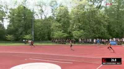 Men's 4x400m Relay, Final 1