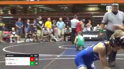 105 lbs Rr Rnd 5 - Blak Carton, Elite Athletic Club Stars vs Lincoln Vick, Pheonix Wrestling