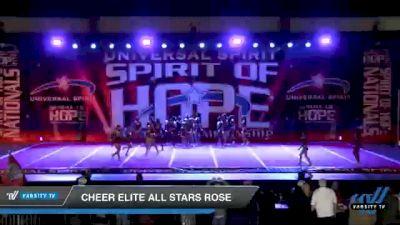 Cheer Elite All Stars Rose [2021 Junior Medium 3 D2 Day 1] 2021 Universal Spirit: Spirit of Hope National Championship
