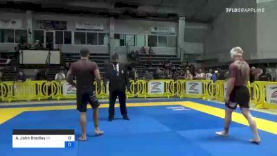 Adam John Bradley vs Sebastian Rodriguez 2021 Pan IBJJF Jiu-Jitsu No-Gi Championship