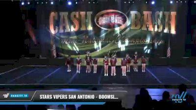 Stars Vipers - San Antonio - Boomslang [2021 L4 Junior Day 1] 2021 ACP Cash Bash Championship