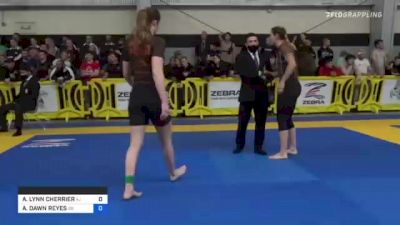 JOY ANN PENDELL vs CHLOÉ MCNALLY 2021 Pan IBJJF Jiu-Jitsu No-Gi Championship