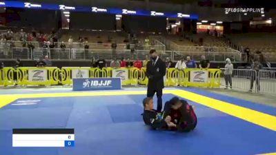 Ethan Major vs James Burgess 2021 Pan Jiu-Jitsu IBJJF Championship