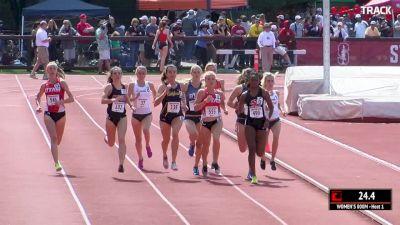 Women's 800m, Heat 1