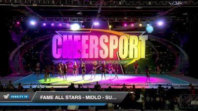 FAME All Stars - Midlo - Super Seniors [2020 International Open 6 Day 2] 2020 CHEERSPORT National Cheerleading Championship