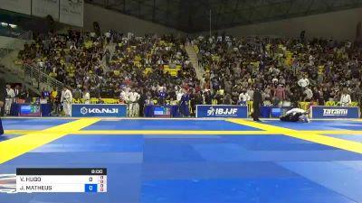 VICTOR HUGO COSTA MARQUES vs JOSÉ MATHEUS MACEDO DE LIRA LUNA 2019 World Jiu-Jitsu IBJJF Championship