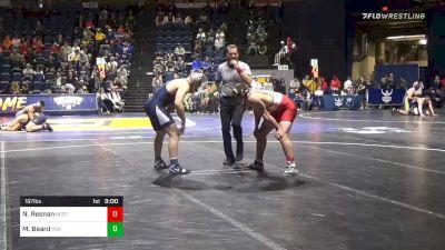 197 lbs Quarterfinal - Nick Reenan, NC State vs Michael Beard, Penn State