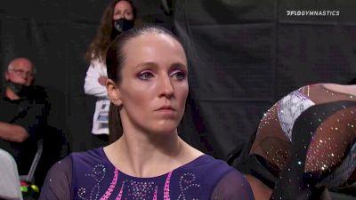Chellsie Memmel - Beam, M and M Gym - 2021 US Championships Senior Competition International Broadcast