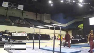 Anthony Mills - Parallel Bars, Arizona State - 2021 Men's Collegiate GymACT Championships