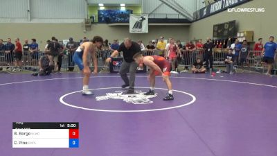 74 kg Round Of 32 - Brady Berge, Nittany Lion Wrestling Club vs Cameron Pine, Campbell
